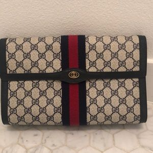 Vintage Gucci Large Clutch